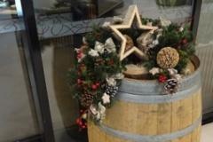 Vánoční výzdoba v přírodním stylu